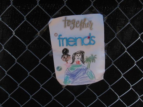 Together friends.