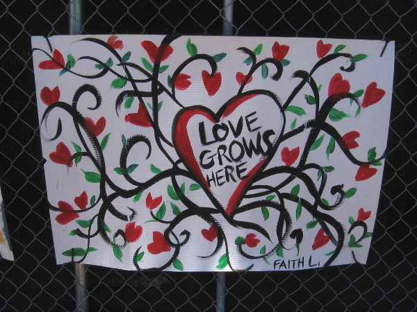 Love grows here.
