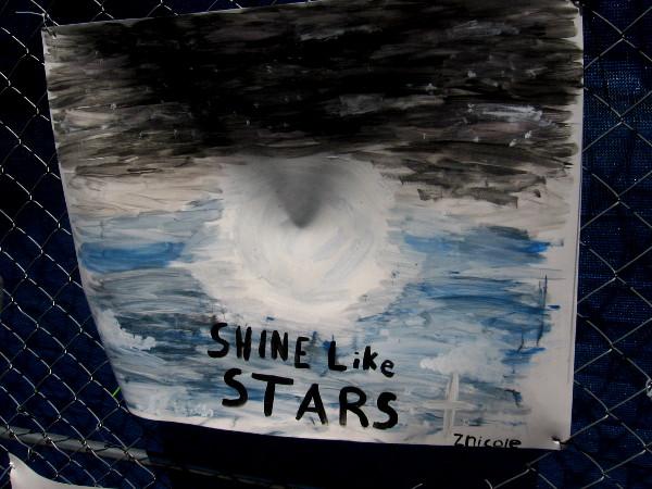 Shine like stars.