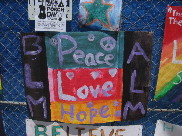 Peace. Love. Hope.