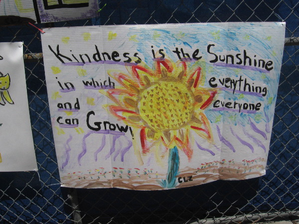 Kindness is the sunshine in which everything and everyone can grow.