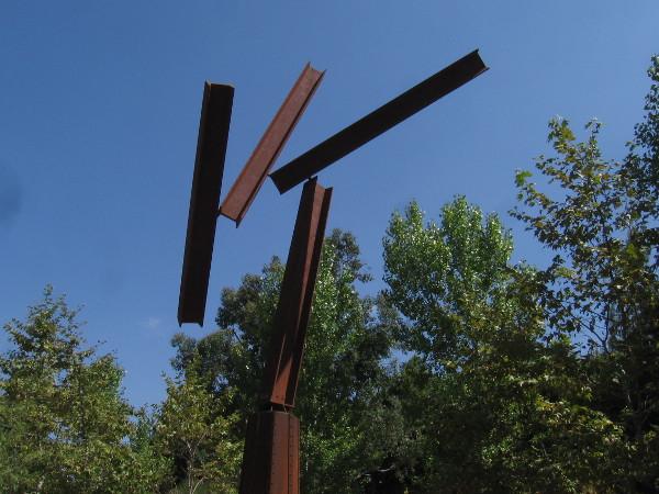 Wind Beams, by artist Robert Rochin, 2010.