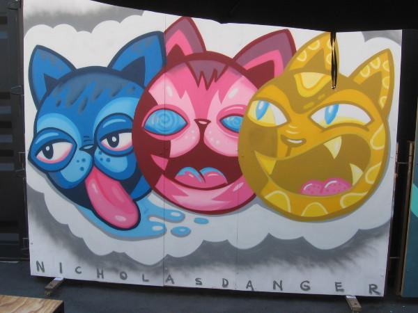Mural at Quartyard by Nicholas Danger.
