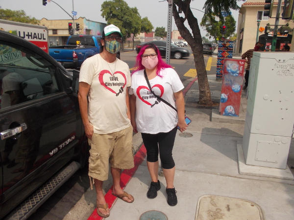 Carlos Quezada and Melody De Los Cobos of Love City Heights.