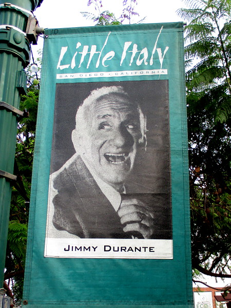 Jimmy Durante.