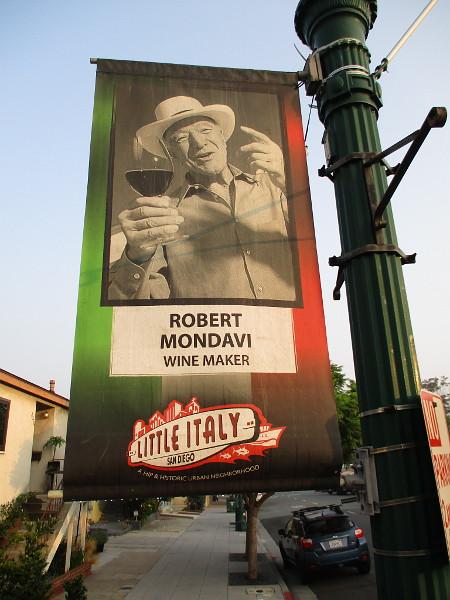 Robert Mondavi.