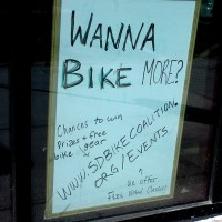 Free bicycling prizes during Cycle September!