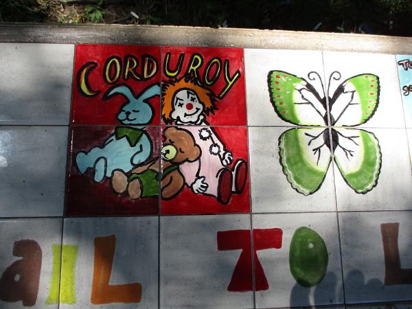 Corduroy.