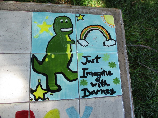 Just Imagine with Barney.