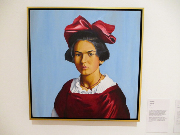 Young Frida, by artist Kim Bagwill, 2018. Oil on panel.