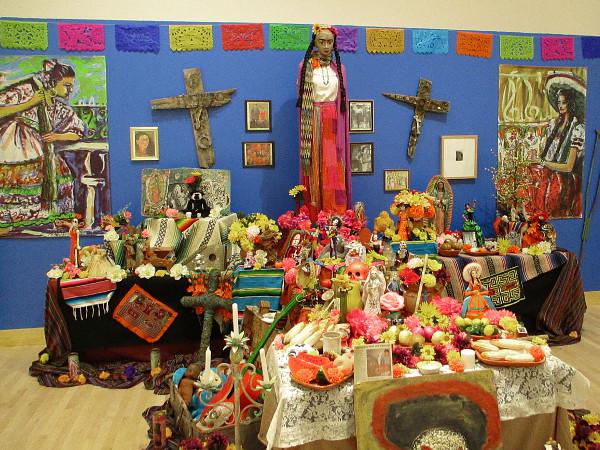 Frida Kahlo Día de los Muertos Altar by artist Daniel F. Martinez.