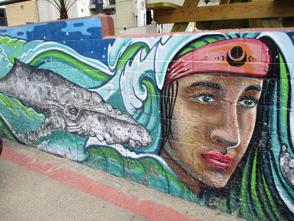 Take an easy walk around downtown Cardiff-by-the-Sea and discover many beautiful murals!
