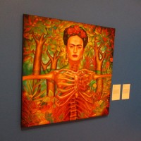 Artists celebrate Frida Kahlo in new exhibition.