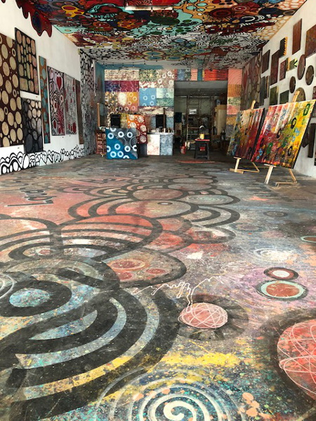 Interior photo of Chula Vista's Art on Third, courtesy Rich Walker.