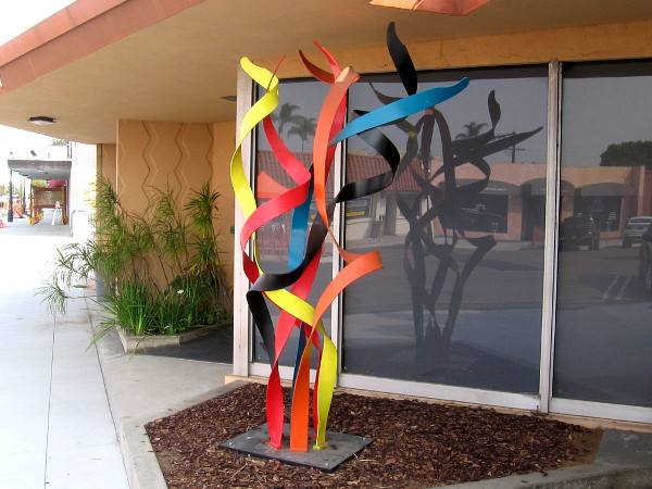Cool sculpture that I spotted in front of an office occupied by attorneys.