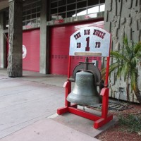 Huge bell at The Big House fire station!