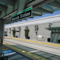 Solve a riddle at the Alvarado trolley station!