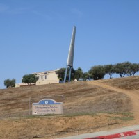 Monument in Otay Mesa to aviation pioneer Montgomery.