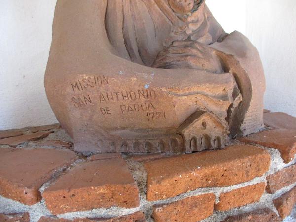 Mission San Antonio de Padua 1771.