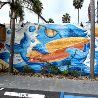 Cool murals in the heart of Oceanside!