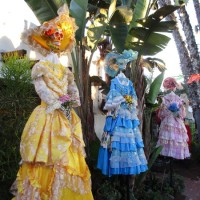 The colorful Catrinas of Old Town San Diego!