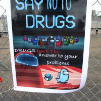 San Diego students create posters against drugs!