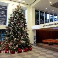 San Diego Symphony's beautiful Christmas tree!