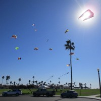 Colorful kites above Coronado Cays!