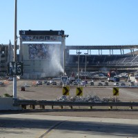 Demolition of San Diego Stadium is underway!