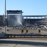 Demolition of San Diego Stadium is underway!