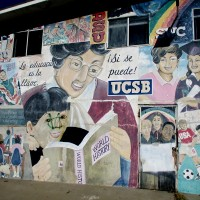 Barrio Logan mural celebrates education.