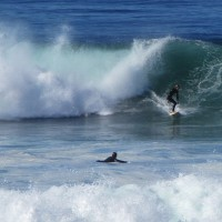 Big surf at the La Jolla Tide Pools!
