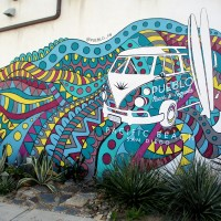 Four cool murals in Pacific Beach!