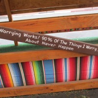 Amusing sayings outside Rockin' Baja!