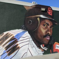 Mural of Padres hero Tony Gwynn in City Heights!