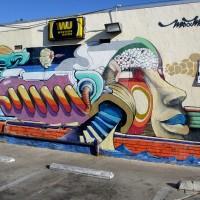 Maxx Moses mural at Jerry's Market.