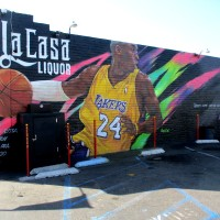 Kobe Bryant mural in National City!