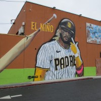 Mural in Ocean Beach celebrates Fernando Tatís Jr.