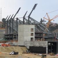 The new Aztec Stadium rises!