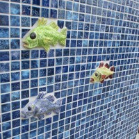 Sea creatures swim in Ocean Beach building!
