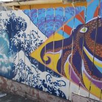 A beautiful hidden mural in San Ysidro!