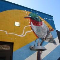 Art found in the Cedros Avenue Design District!