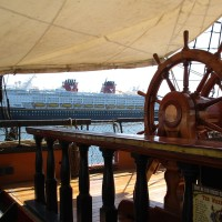 A famous Disney movie ship in San Diego!