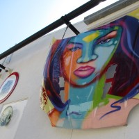 Stepping into the Art Alley on Cedros!