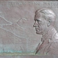 Plaque at Cabrillo honors National Parks hero.