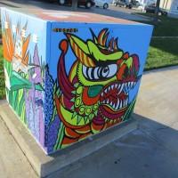 Lots of new street art in Kearny Mesa's Convoy District!