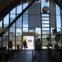 Unique architecture at the Solana Beach train station!