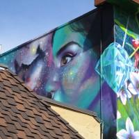Two more colorful murals in La Mesa!